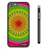 Apple iphone 6 4.7 inch Case Hard PC Atlantis Maya Tribal Black Shell Single Layer Protective Case (2)