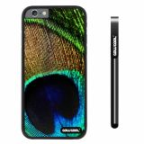 Apple iphone 6 4.7 inch Case Hard PC peacocks feathers Black Shell Single Layer Protective Case (9)