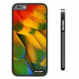 Apple iphone 6 4.7 inch Case Hard PC Wings feathers Black Shell Single Layer Protective Case (13)