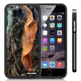 Apple iphone 6 4.7 Inch Soft Silicone leaves Straw Grass Mossy Camo weed Black Shell Single Layer Protective Case (9)