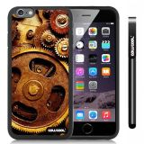 Apple iphone 6 4.7 Inch Soft Silicone Gear Black Shell Single Layer Protective Case (9)