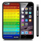 Apple iphone 6 4.7 inch Case Magic algorithms 99 Multiplication Table Black Shell Single Layer Protective Case (Style3)
