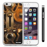 Apple iphone 6 4.7 Inch Soft Silicone Retro Gear machinery Transparent Shell Single Layer Protective Case (8)
