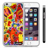 Apple iphone 6 4.7 Inch Soft Silicone Colorful kid Watercolor Fish Competition food Transparent Shell Single Layer Protective Case (8)