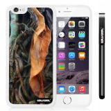 Apple iphone 6 4.7 Inch Soft Silicone leaves Straw Grass Mossy Camo weed White Shell Single Layer Protective Case (9)