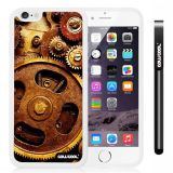 Apple iphone 6 4.7 Inch Soft Silicone Gear White Shell Single Layer Protective Case (9)