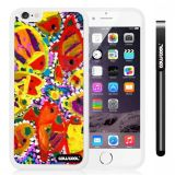 Apple iphone 6 4.7 Inch Soft Silicone Colorful kid Watercolor Fish Competition food White Shell Single Layer Protective Case (8)