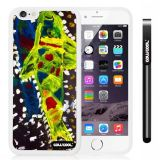 Apple iphone 6 4.7 Inch Soft Silicone Colorful kid Watercolor Fish Competition food White Shell Single Layer Protective Case (11)