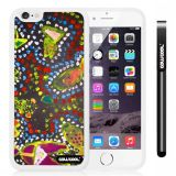 Apple iphone 6 4.7 Inch Soft Silicone Colorful kid Watercolor Fish Competition food White Shell Single Layer Protective Case (13)