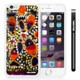 Apple iphone 6 4.7 Inch Soft Silicone Colorful kid Watercolor Fish Competition food White Shell Single Layer Protective Case (15)
