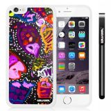 Apple iphone 6 4.7 Inch Soft Silicone Colorful kid Watercolor Fish Competition food White Shell Single Layer Protective Case (23)