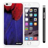 Apple iphone 6 4.7 Inch Soft Silicone birds feathers White Shell Single Layer Protective Case (1)