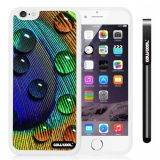 Apple iphone 6 4.7 Inch Soft Silicone dew on Fashion birds feathers White Shell Single Layer Protective Case (6)