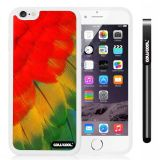 Apple iphone 6 4.7 Inch Soft Silicone Birds Wings feathers White Shell Single Layer Protective Case (14)
