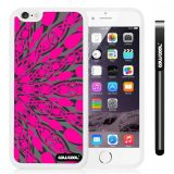Apple iphone 6 4.7 Inch Soft Silicone Symmetric cross divergence Geometric patterns Single Layer Protective Case (Style3)
