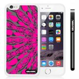Apple iphone 6 4.7 Inch Soft Silicone Geometric patterns Symmetric cross divergence Single Layer Protective Case (Style4)