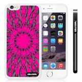 Apple iphone 6 4.7 Inch Soft Silicone Concentric Circle Symmetric cross Single Layer Protective Case (Style5)